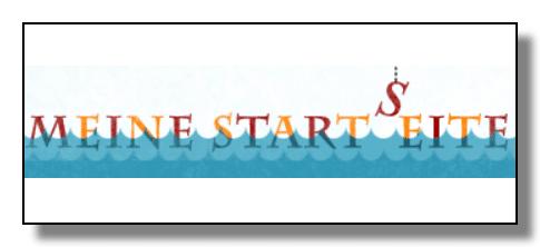 Meine Startseite - die Webseite mit Suchmaschine für Kinder