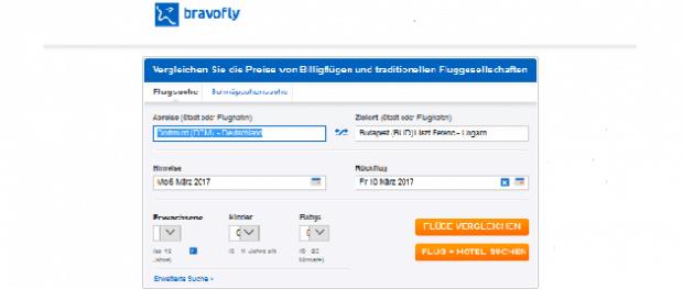 Bravofly - günstige Flüge mit Flugpreisvergleich auf bravofly.de