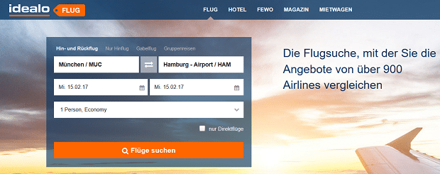 idealo Flug - Tipps für günstigere Flüge auf flug idealo