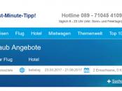 5vorflug - günstig verreisen mit 5 vor Flug auf 5vorflug.de