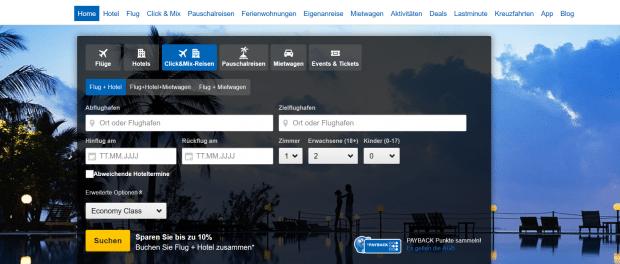 Expedia - günstige Pauschalreisen auf Expedia.de