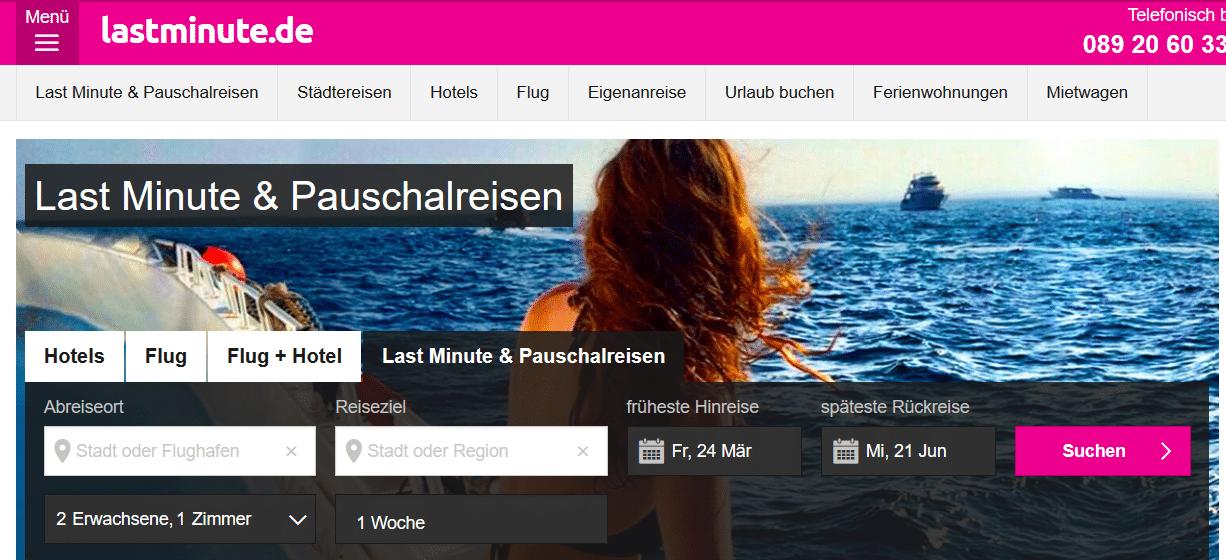 Lastminutede Tipps Infos Zum Reiseanbieter Lastminutede