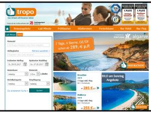 tropo - günstige Pauschalreisen und Last Minute Angebote