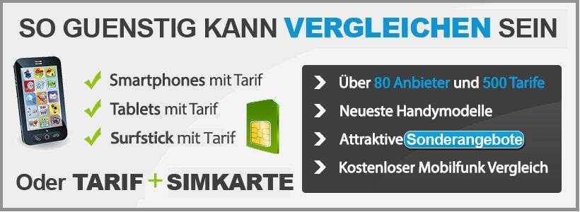Mobilfunkanbieter mit günstigen Handyverträgen