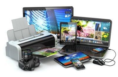 Technik im Internet kaufen - Drucker sind sehr gefragt