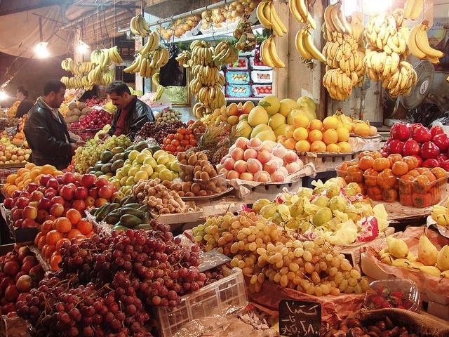 Frischemarkt in Amman